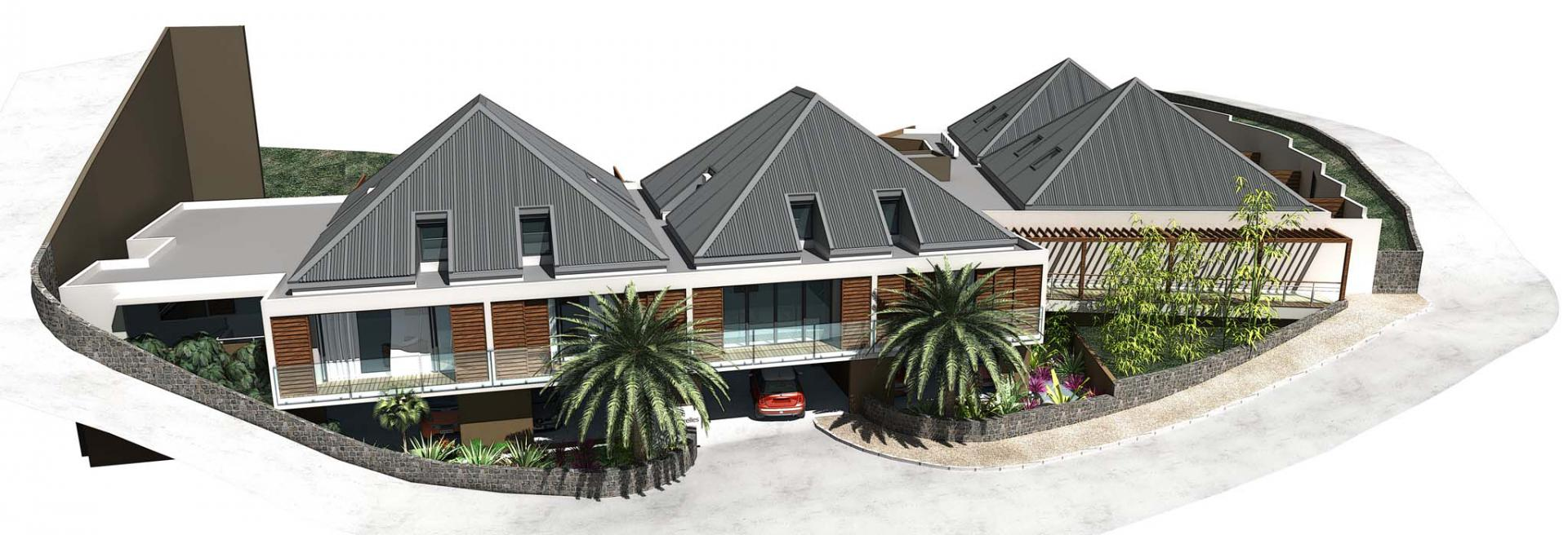 Residence le Rocher Vert St.Barth - Golden coast Real Estate